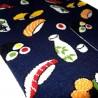 Chaussettes Tabi mi-mollet - Du 35 au 39 - Autour du sushi. Chaussettes à orteils séparés pour tongs.