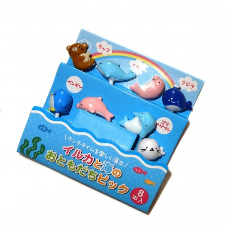 Bento accessories - Seaworld friends decorative picks