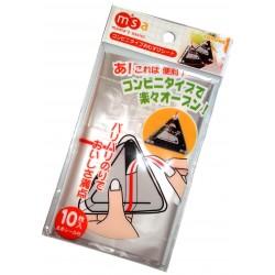 Emballage Combini Onigiri - 10 feuilles