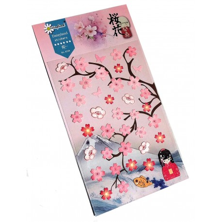 Sakura stickers - Cherry blossoms