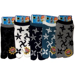 Kid's Tabi socks -  Shuriken - Size 26 to 35