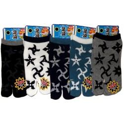 Chaussettes tabi enfants - Pointure 26 à 35 - Shuriken