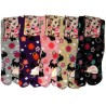 Tabi socks - Size 35 to 39 - Kittens prints. Split toes Japanese socks