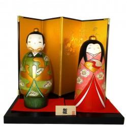 Kokeshi dolls - Tachibina