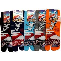 Tabi socks - Size 39 to 43 - Tsuru Fuji