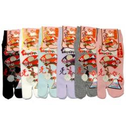 Chaussettes japonaises Tabi - Du 35 au 39 - Usagi Ôgimon