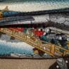 Furoshiki 67x67 cm - Scène féodale