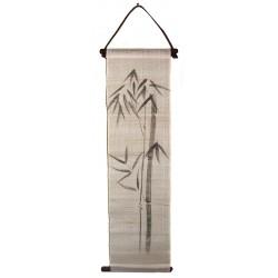 Mini tapisserie suspendue - Bambous