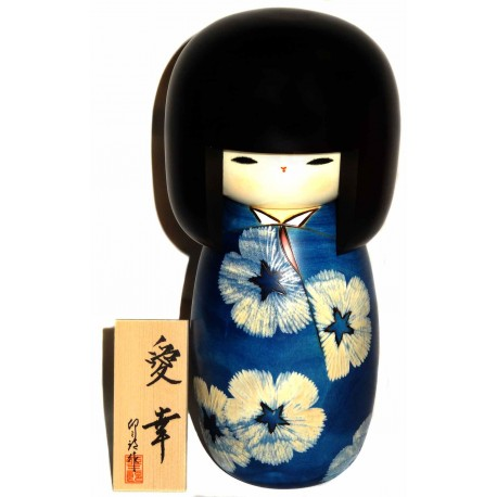 Kokeshi doll - Aiko. Japanese wooden dolls