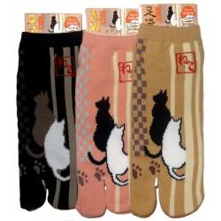 Chaussettes japonaises Tabi - Du 35 au 39 - Chats