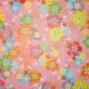 Papier japonais origami 15 x 15 cm - motifs floraux. Papèterie japonaise.