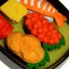 Gommes sushi - Lot de 6. Articles et produits de papèterie japonaise.
