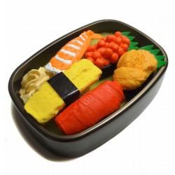 Gommes sushi - Set de 6 pcs