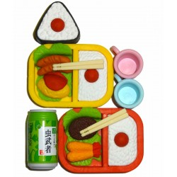 Bento Erasers - Set of 6pcs