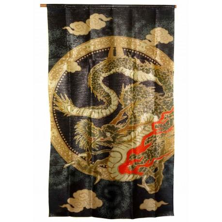Polyester Noren - Great dragon