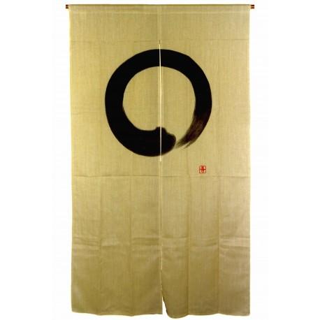 Noren en polyester et lin - Ensô. Boutique de décoration japonaise.
