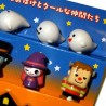 Bento accessories - Ghosts and monsters decorative picks