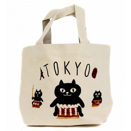 Tote Bag - Tokyo Sumotori. Sac fourre-tout en toile de coton.