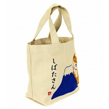 Tote Bag - Shibata San. Cotton canvas bag.