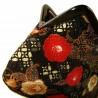 Japanese chirimen coin purse - Tsubaki