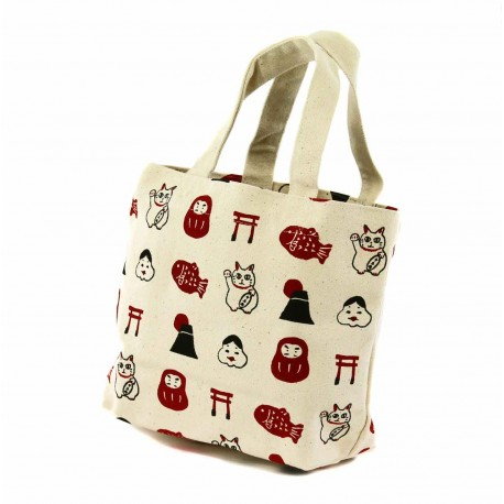 Tote Bag - Engimono. Bento carrying bag.