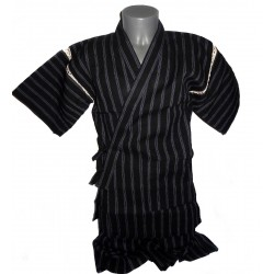 Jinbei 103 black - L size - Cotton