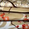 Furoshiki 50x50 beige - Kôbai Hakubai Tissus  et textile japonais.