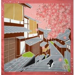 Furoshiki 50x50 Sakura - Tama no Sanpo