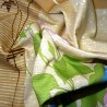 Furoshiki 50x50 beige - Summer. Japanese cloths and fabrics.