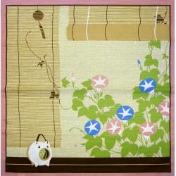 Furoshiki tissu 50x50 beige - Eté