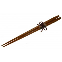 Chestnut wood chopsticks - 23.5 cm