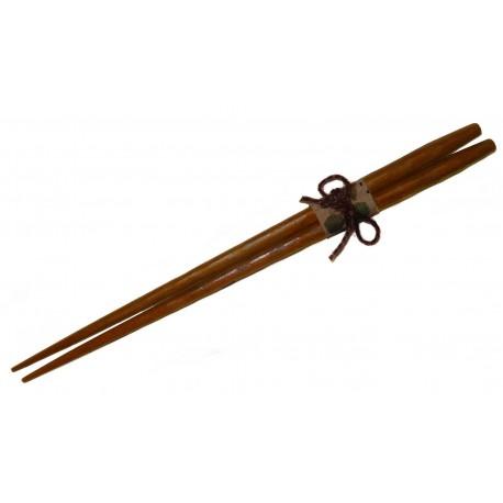 Baguettes 23,5 cm en bois de Châtaignier