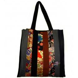 Tote Bag Koto Asobi - Charcoal and black