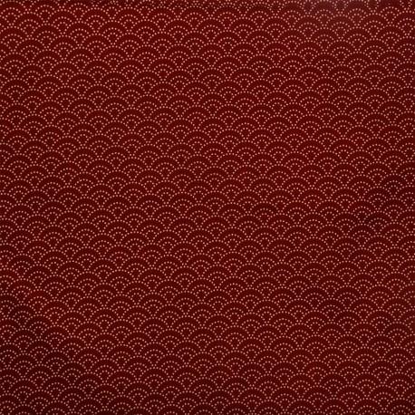 Tissu 200 x 110 cm - Motifs Seigaha. Tissu et textile japonais.