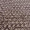 Tissu 200 x 110 cm - Motifs Asanoha. Tissus et textile japonais.
