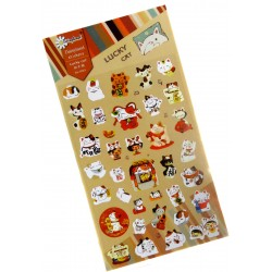 Stickers Maneki Neko
