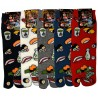 Tabi socks Size 43 to 46 - Sushi & Co. Split toes socks large size