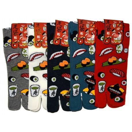 Chaussettes tabi haut cheville - Du 39 au 43 - Autour du sushi.