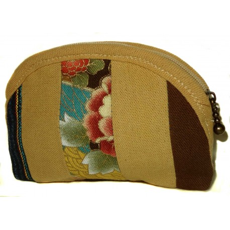 Coin purse Koto Asobi - Sand. Japanese fashion accessories