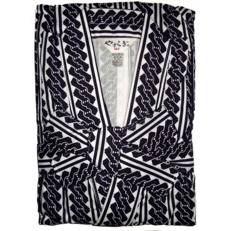 Men's indoor Yukata - M size N60. Onsen yukata bathrobe.