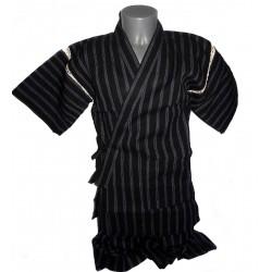 Jinbei 106 noir - Taille M - Coton