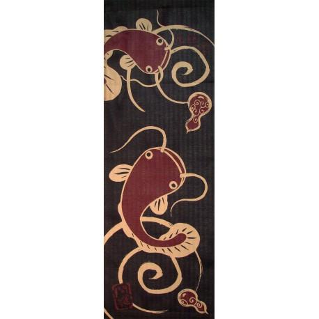 Tenugui - Namazu prints