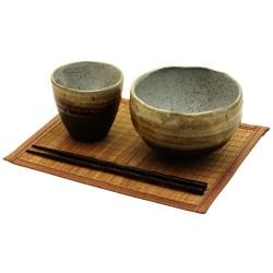 Set riz Donburi - Poterie de Mino