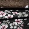 Polyester Noren - Sakura Tsukiyo. japanese curtains and Japanese interior.