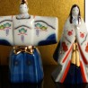 Imperial couple - Hinamatsuri Tachibina. Japanese decoration items.