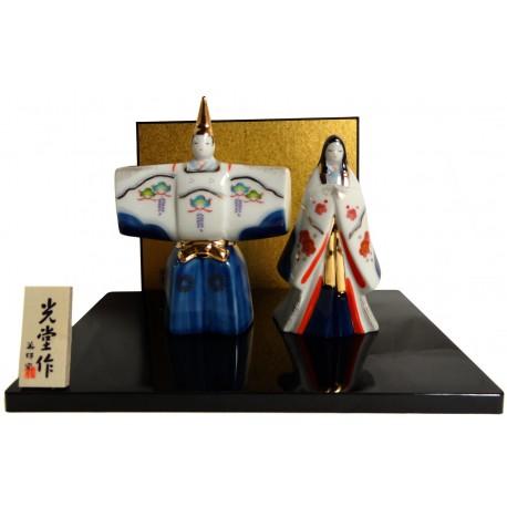 Imperial couple - Hinamatsuri Tachibina. Japanese decoration items.