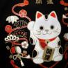 T-shirt noir - Manekineko