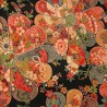 Tissu japonais 200 x 110 cm - Motifs floraux