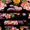 Japanese textile cut 200 x 110 cm - Floral prints