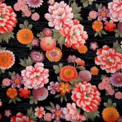 Textile cut 200 x 110 cm - Floral prints